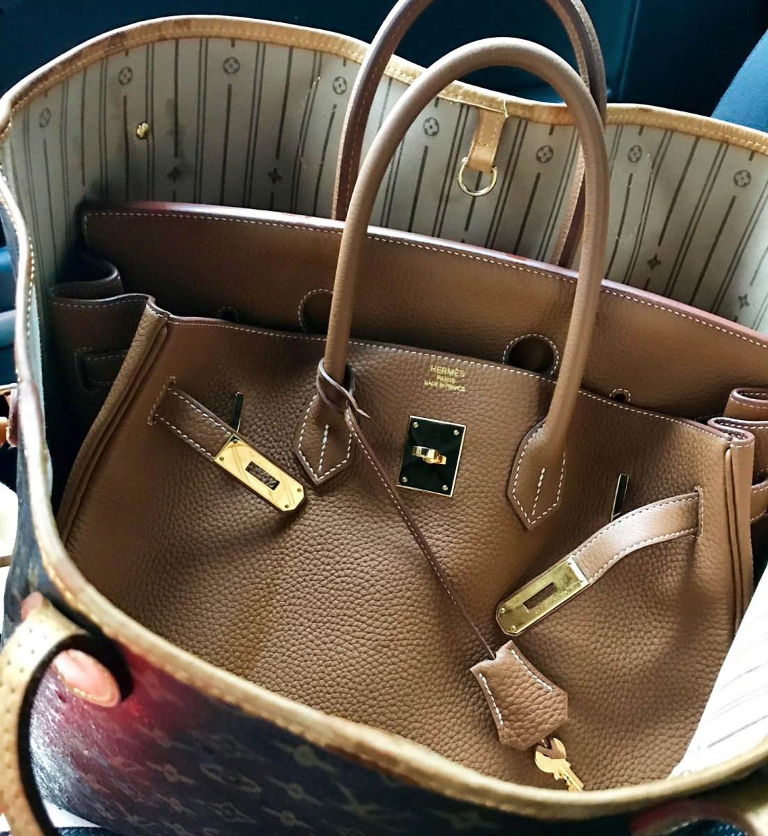 Oh my god - a new Birkin Bag in the house