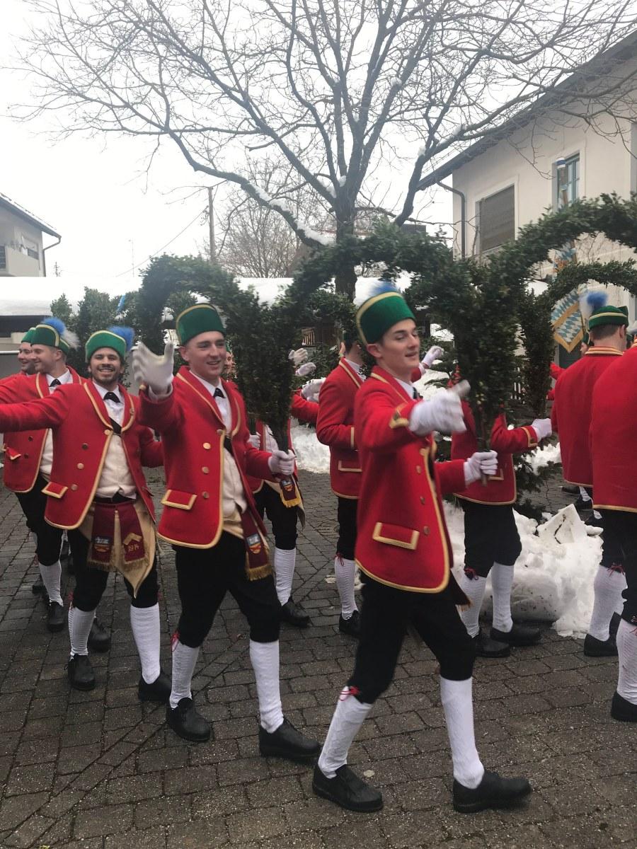 Schäfflertanz - altbayerische Tradition