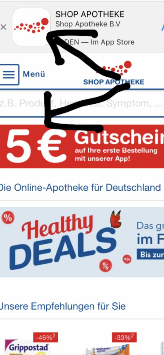 Online Shop Apotheke