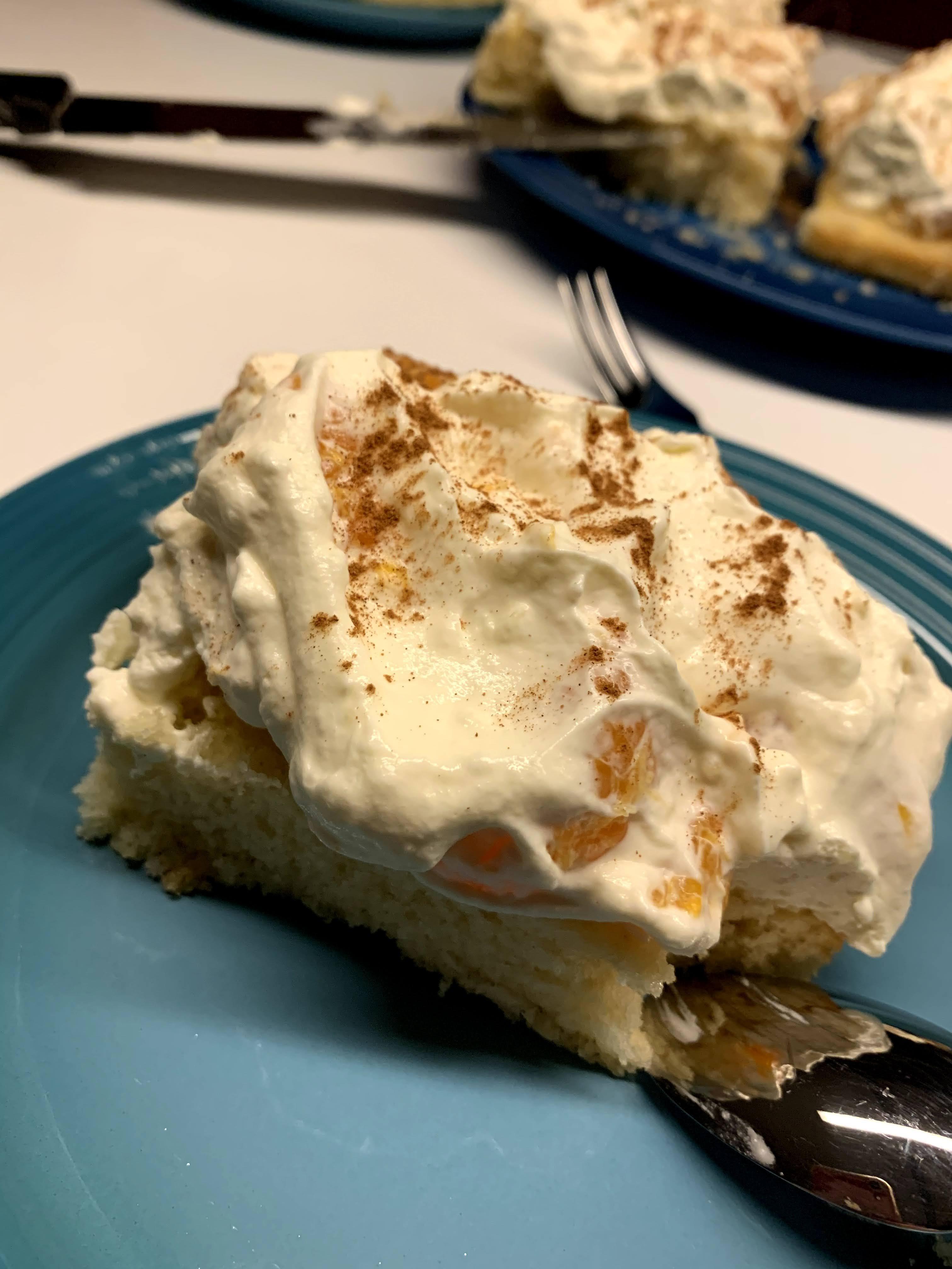 Rezept für einen leckeren FANTA-Kuchen mit Mandarinen