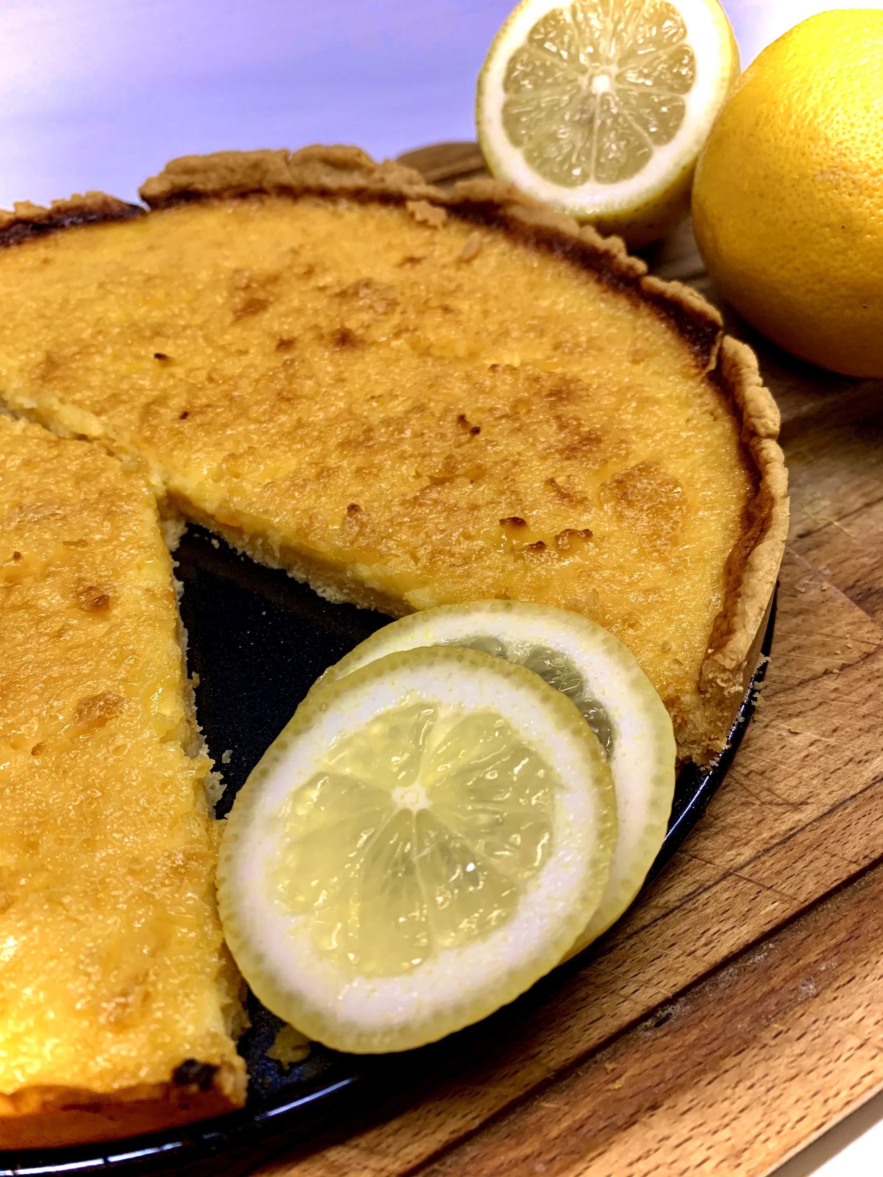 Rezept für eine leckere Zitronentarte